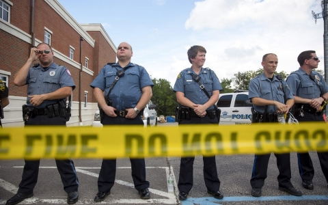 Thumbnail image for Exclusive: Former Ferguson cop says town is 'getting hit with everything'