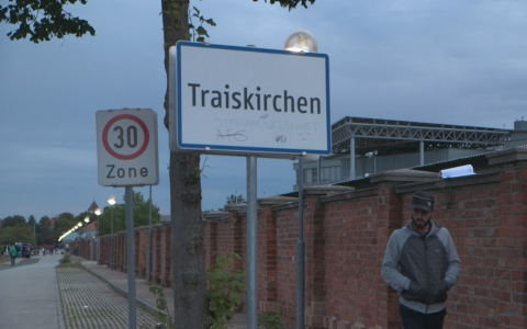 The Traiskirchen refugee camp outside of Vienna, Austria, is the first stop for many of the thousands of refugees streaming into Austria and the largest refugee camp in the country.