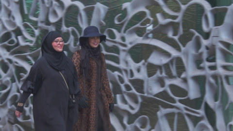 Aulaqi and Aguilera would rather take on would-be attackers than take off the hijab.