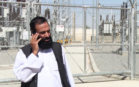 Rasoul Balkhi, the director of power for Kandahar Province