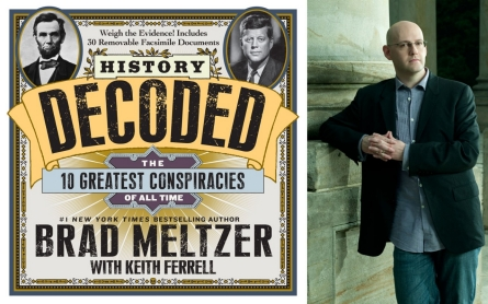 'History Decoded' author Brad Meltzer on how conspiracy theories evolve