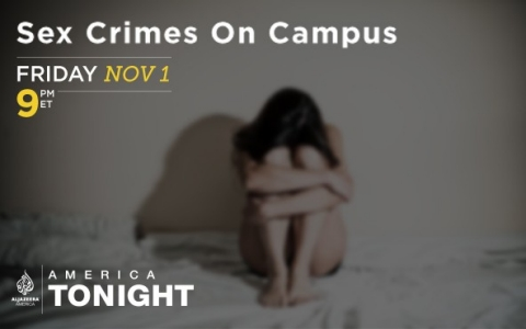 "Watch the ""Sex crimes on campus"" town hall on Al Jazeera America town hall at 9pm ET."