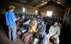 Jake Harriman, Nuru International founder and CEO, addresses a crowd of Nuru farmers in Kuria West District, Kenya.