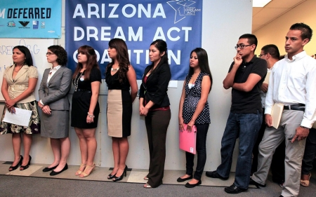 'I'm American too': Undocumented students wait for Obama action