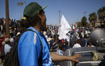 Mexican farmworkers demand higher wages