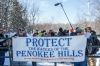 Wisconsin mine protest