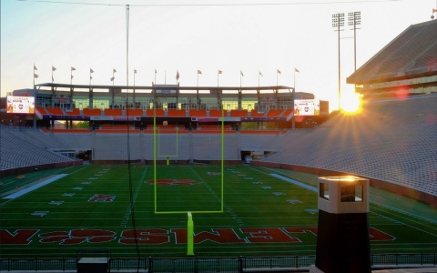 Clemson Death Valley sunset