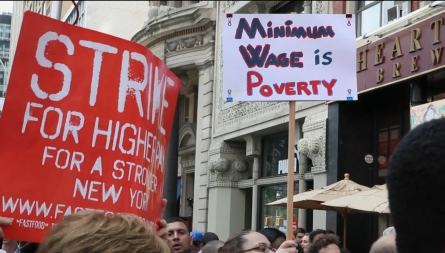 Workers demanding $15 per hour, right to unionize—tweets on wage theft