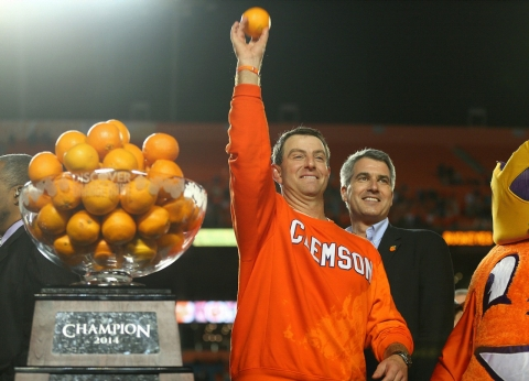 Dabo Swinney Orange Bowl