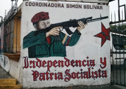The art of the Bolivarian revolution in Venezuela