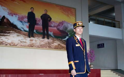 Thumbnail image for Slideshow: Scenes from a heavily curated bus tour of North Korea
