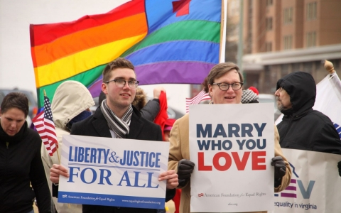 Thumbnail image for What's behind the flood of court rulings against state gay marriage bans?