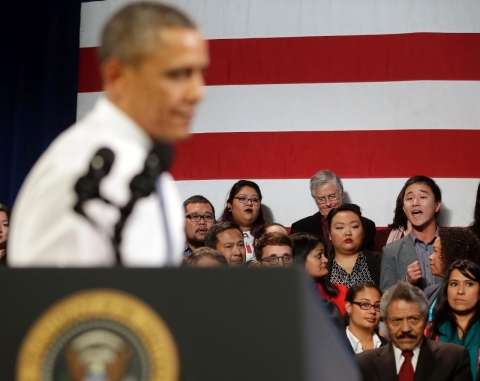 Thumbnail image for Is President Obama a friend or foe in the fight for immigration reform?