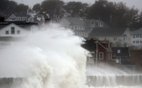 "IPCC scientists say they have ""very high confidence"" that coastal system and low-lying areas will experience adverse impacts to climate change."