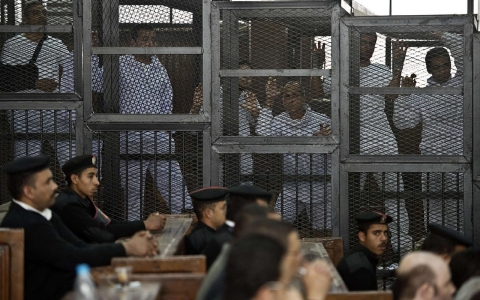 Thumbnail image for After jailing journalists, will Egypt see its global status change?
