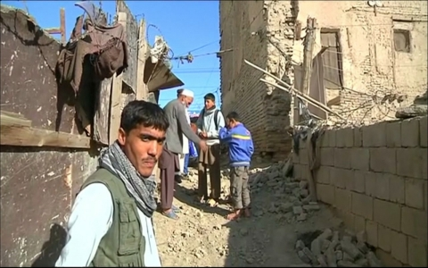 Thumbnail image for Powerful earthquake brings devastation in Afghanistan