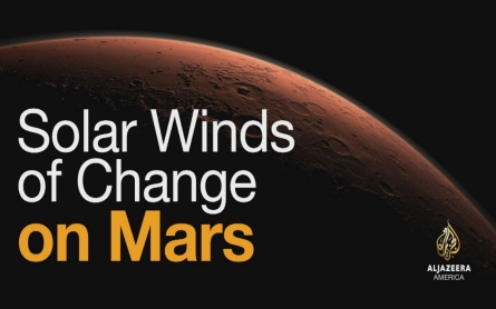 Solar winds of change on Mars