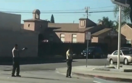 Deadly encounter by sheriff's deputies in Los Angeles caught on video