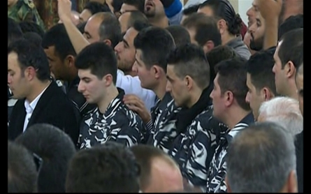 Freed Lebanese soldiers return home