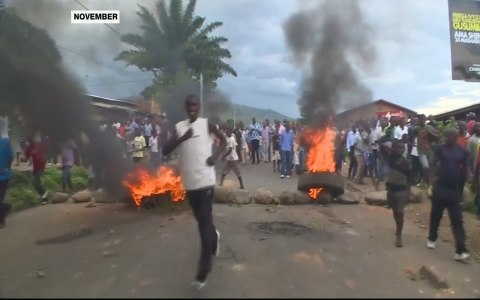 Thumbnail image for Gunmen attack military camps in Burundi