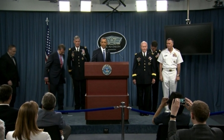 Military leaders meet with President Obama over ISIL strategy