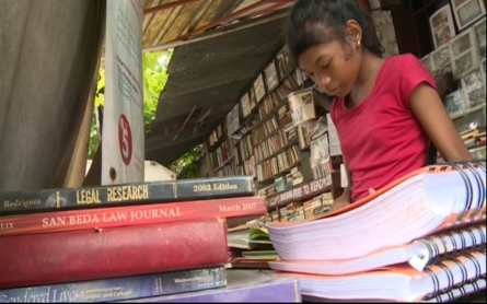One man's quest to improve literacy in the Philippines
