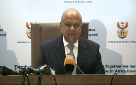 Pravin Gordhan named third South African finance minister in week