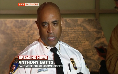 Thumbnail image for Baltimore Police Commissioner speaks on riots