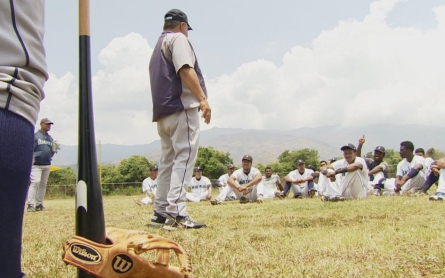 Major league sports clinics in Venezuela face trouble