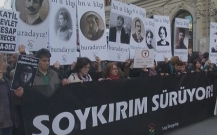 Why is the Armenian genocide a sensitive topic in Turkey?