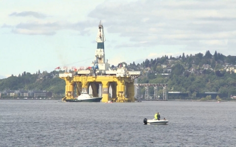 Thumbnail image for Battle for sea drilling in Seattle pits David vs. Goliath