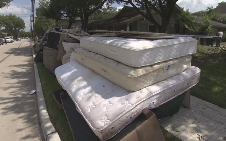 Houston officials assess flood damages