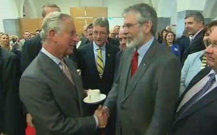 Prince Charles and Sinn Fein leader come together in historic meeting
