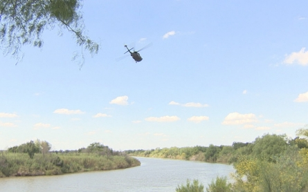 National Guard troops help patrol Texas border