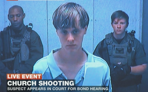 Thumbnail image for Relatives of Charleston massacre victims speak to Dylann Roof in court