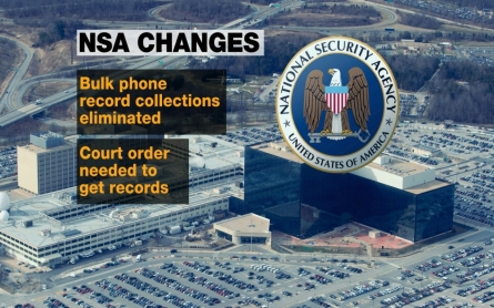 NSA powers curtailed with USA Freedom Act