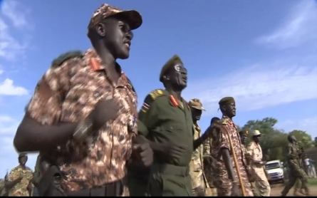 Inside a rebel commander base in South Sudan