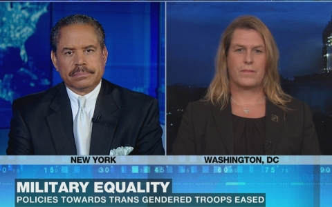 Thumbnail image for Military eases policies for transgender members