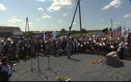 Solemn anniversary of Malaysia Airlines MH17 crash