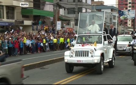 Pope returns to South America