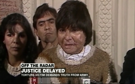 Torture victim seeks truth from Chilean army
