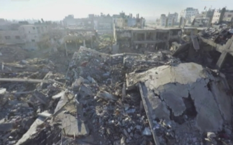 Thumbnail image for Gaza one year after war