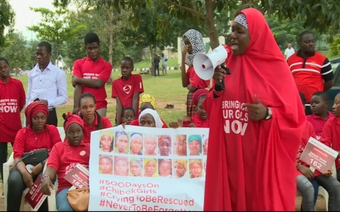 Thumbnail image for Nigerians continue to hope for the safe return of 219 girls