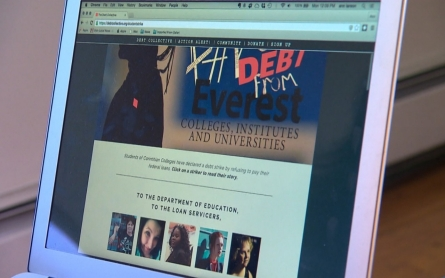 Student debt strikers seek help from the White House
