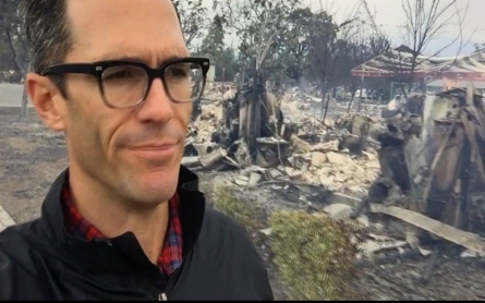 A look at the fire damage in Middletown, California