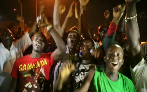Thumbnail image for Coup in Burkina Faso sparks gunfire