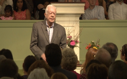 Former President Jimmy Carter continues to work after cancer diagnosis