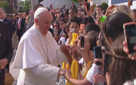 Pope Francis tours New York
