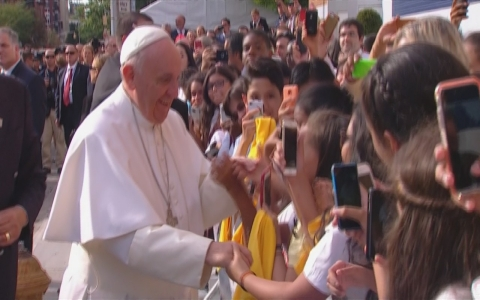 Thumbnail image for Pope Francis tours New York