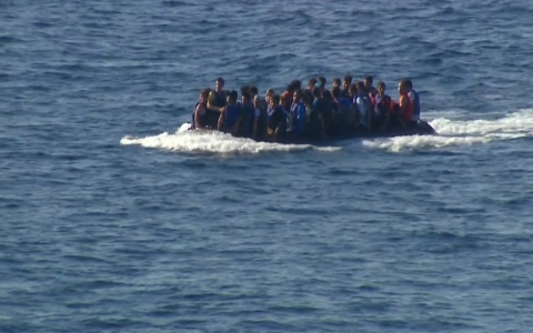 Thumbnail image for Refugees fall for postings from smugglers on social media sites